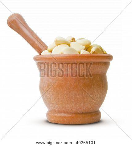 Crushing Garlic
