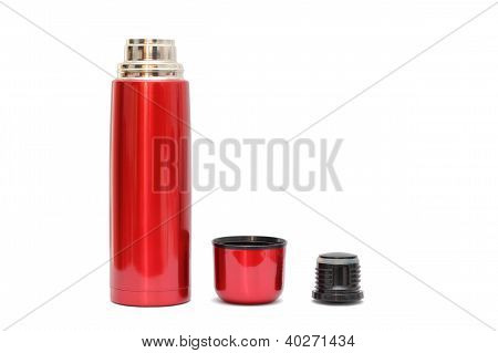 Red Thermo Bottle