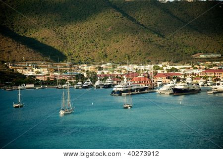 Yacht club in Saint Thomas
