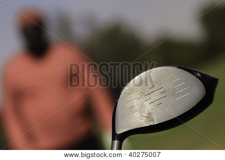 Closeup Of Golf Stick