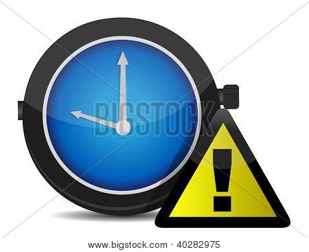 Clock Reminder Icon