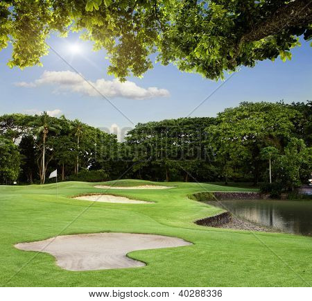 Golf Course in Bali