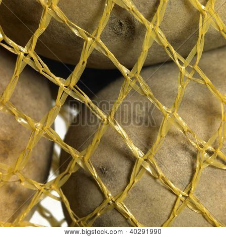 Potatoes In A Net