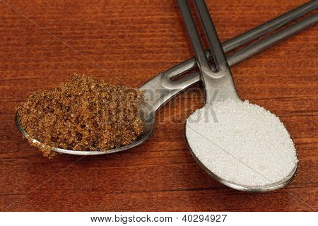 Brown Sugar Or White Sugar