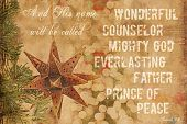 image of backround  - Great Christmas Backround in vintage style for any Christmas projects - JPG