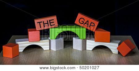 Bridging The Gap - Business, Education, Meeting, Pr, Politics - Differences