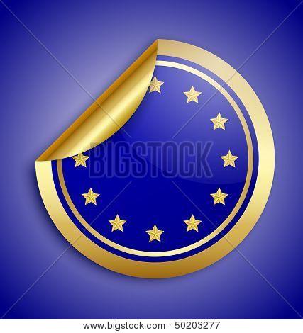 Europe Union Sticker