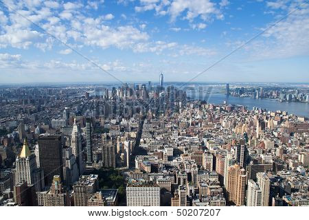 Aereal View Of New York City