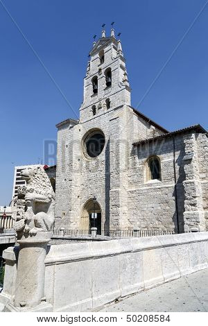 Church Of San Lesmes, Burgos Spain