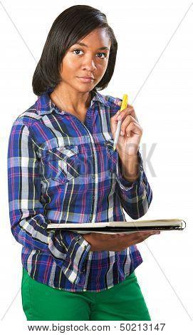 Teenage Student Listening