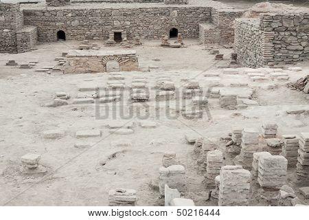 Viminacium, Serbia - April 1:archaeological Site Of Viminacium Roman City On April 1, 2012 In Vimina