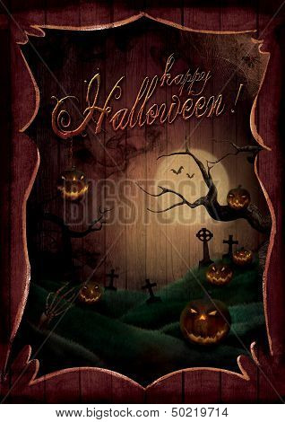 Halloween Design - Pumpkins Theatre