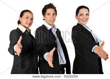 Business Tem Handshake