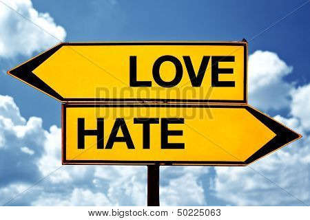 Love Or Hate, Opposite Signs