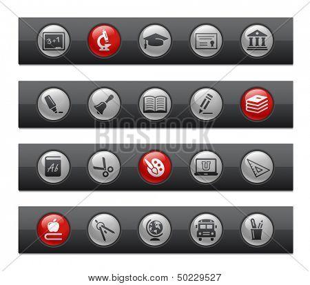School & Education // Button Bar Series