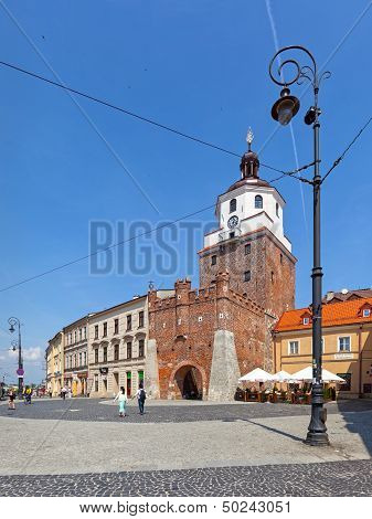 Cracow Gate In Lublin