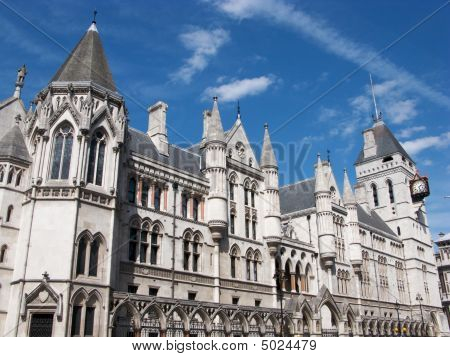 Royal Courts Of Justice Buildings