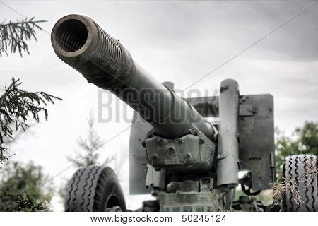 World War Ii Old Soviet Cannon