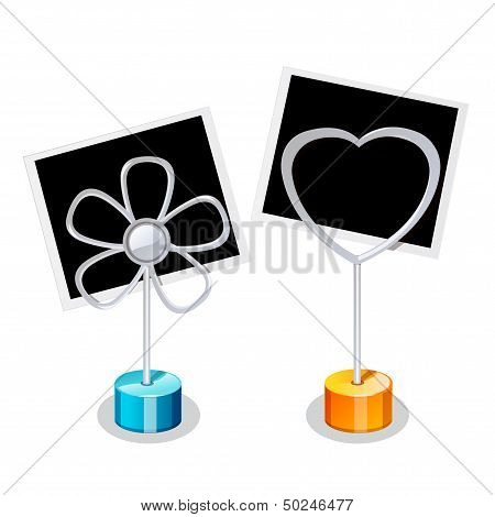 Photo Holder With Two Photos
