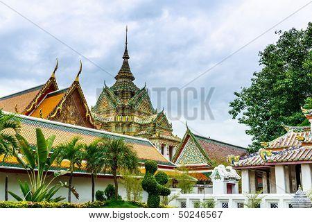 Wha pho in Bangkok