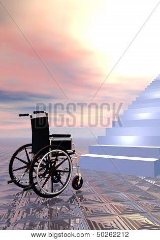 Access forbidden - 3D render