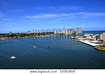 Cityscape Of Fort Lauderdale