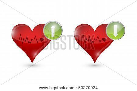 Lifeline Hearts Illustration Design