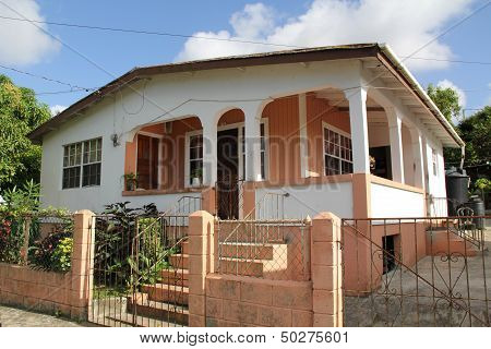 Typical Home in Antigua Barbuda