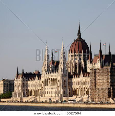 Budapest, House Of Parliament