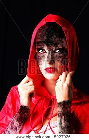 Red Riding Hood, who is also a wolf