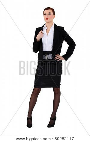 Portrait of a successful businesswoman