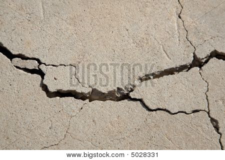 Cracks In Conrete