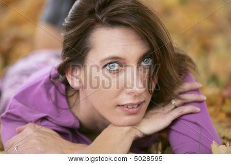 Beautiful Woman Headshot