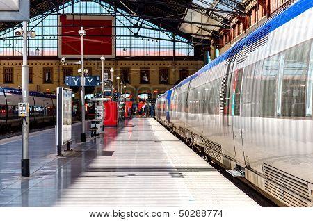 Marseille St. Charles Railway Station, France