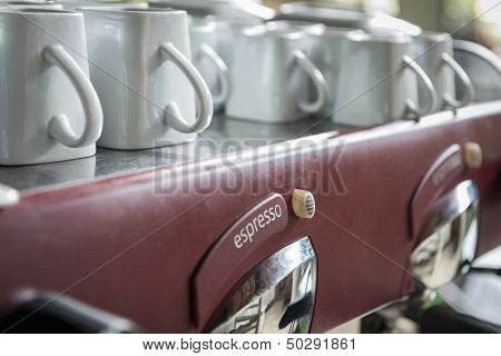 Old Vintage Espresso Machine