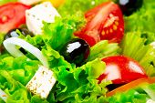 foto of greek  - Salad - JPG