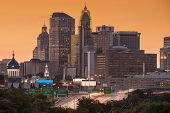 picture of charter oak park  - Skyline of downtown Hartford - JPG