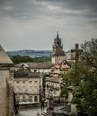picture of avignon  - View from hill near Palais des Papes in Avignon - JPG