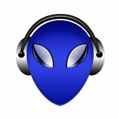 Headphone Alien