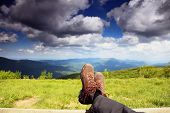image of boot  - Hiking shoes boots - JPG