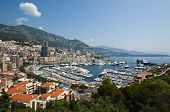 pic of hercules  - Panoramic View of Port Hercule and Monte Carlo - JPG