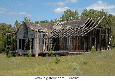 Abandoned Texas Ranch House