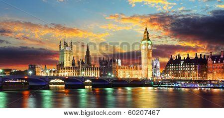 Houses Of Parliament - Big Ben, London, Uk