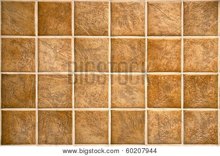 Beige Mosaic Ceramic Tiles For Wall Or Floor.