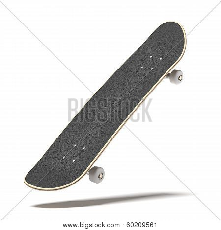 Skateboard isolated