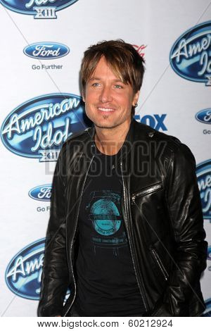 LOS ANGELES - FEB 20:  Keith Urban at the American Idol 13 Finalists Party at Fig & Olive on February 20, 2014 in West Hollywood, CA