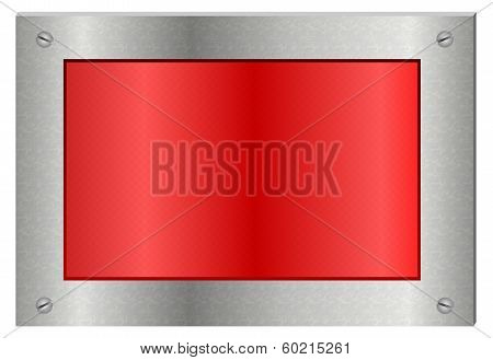 Metallic Display Sign Board