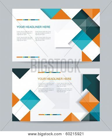 Brochure Or Banners Or Business Card Design.