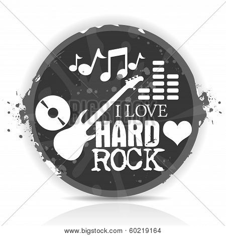 i love hard rock