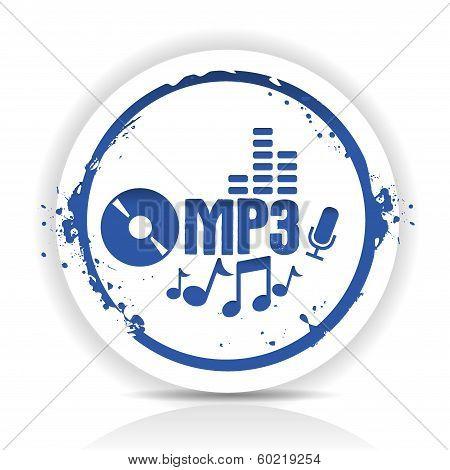 Sticker MP3